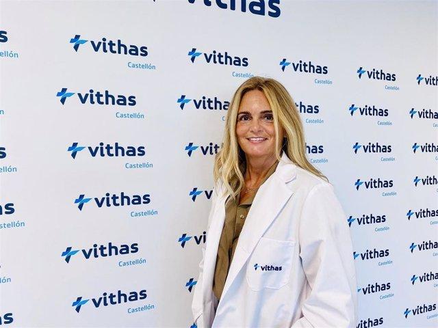 La doctora Sandra Ortega