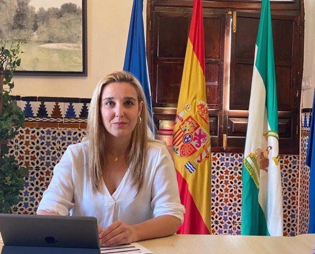 Ana Isabel Jiménez, alcaldesa de Alcalá de Guadaíra