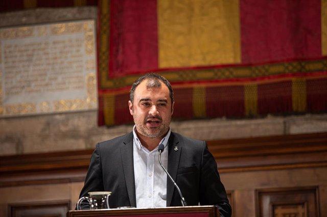 El alcalde de Terrassa, Jordi Ballart