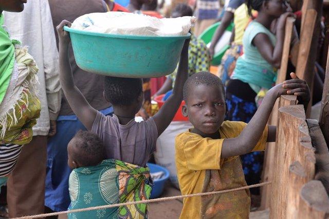 Niños en riesgo en Uganda