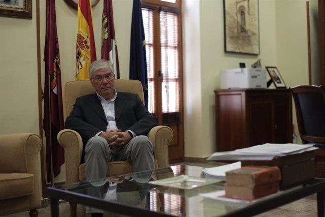 El alcalde de Illecas, José Manuel Tofiño, en entrevista con Europa Press