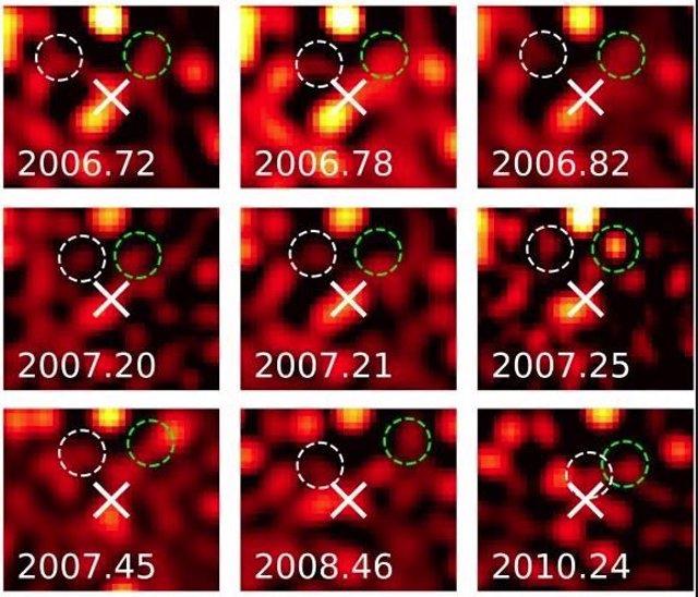 La estrella más veloz conocida, hallada en el centro de la galaxia