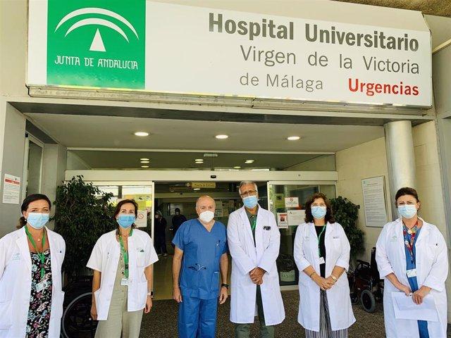 El Hospital Virgen de la Victoria refuerza y reestructura la atención en el circuito Covid-19 de su servicio de Urgencias