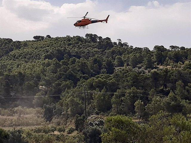 Trabajos de mejora de la red eléctrica en tres municipios de Tarragona.