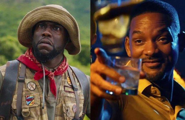 Kevin Hart En Jumanji Y Will Smith En Dos Policías Rebeldes 3