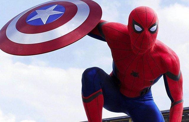 Spider-Man en su primera aparición en el UCM