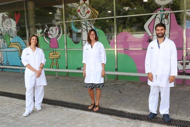 Investigadors de l'Hospital Vall d'Hebron