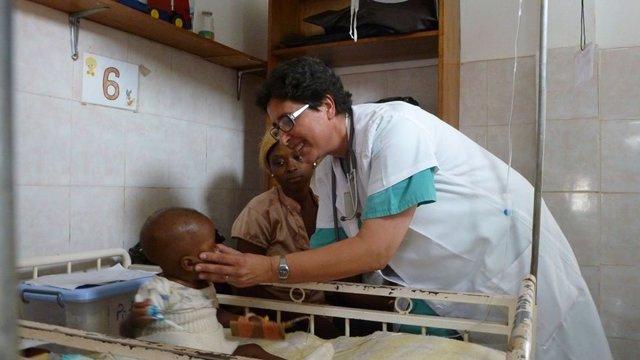Misionera África Cristina Antolín