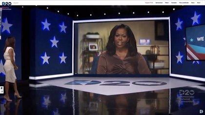 """EEUU.- Trump responde a Michelle Obama: """"No estaría en la Casa Blanca si no fuese por la gestión de su marido"""""""