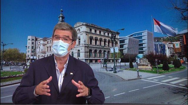 Juan María Aburto, alcalde de Bilbao