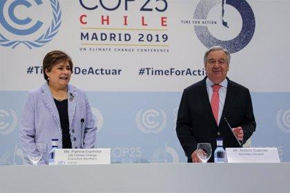 La ONU urge a los países a presentar sus planes al menos de 9 a 12 meses antes de la COP26 de noviembre de 2021
