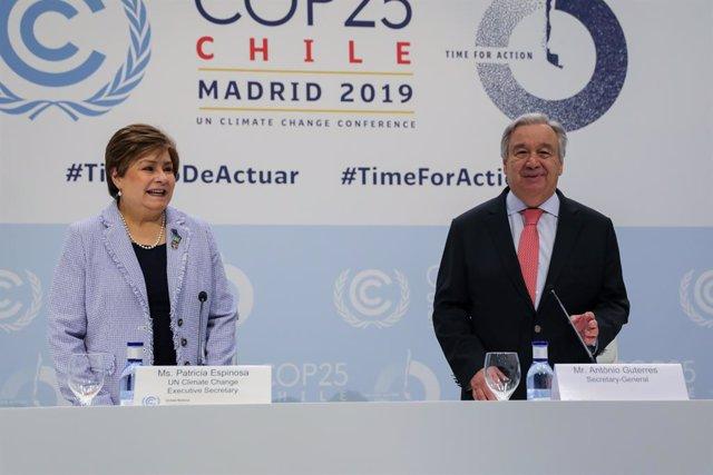 Clima.- La ONU urge a los países a presentar sus planes al menos de 9 a 12 meses
