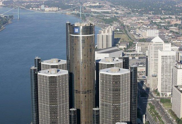 Sede de General Motors en Detroit (EE.UU.)