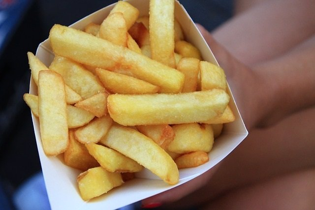 Patatas fritas.