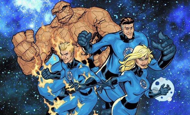 Imagen de los Cuatro Fantásticos en los cómics