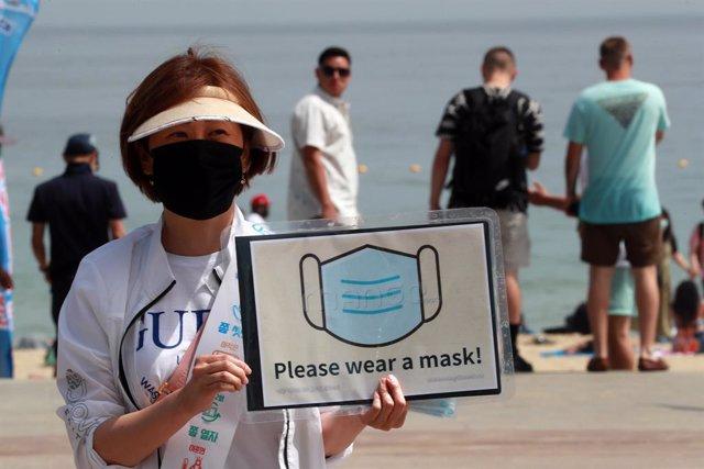 Coronavirus.- Corea del Sur bate récord de contagios en los últimos cinco meses