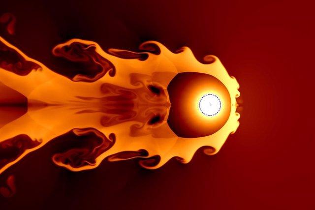 Una supernova a unos 65 años luz de distancia puede haber contribuido al agotamiento del ozono y la posterior extinción masiva del período Devónico tardío,