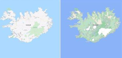 Portaltic.-Google Maps añade pasos de peatones y fondos coloridos para representar el paisaje