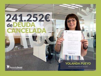 Repara tu Deuda cancela 242.000 € en Guadalajara (Castilla la Mancha) con la Ley de la segunda oportunidad