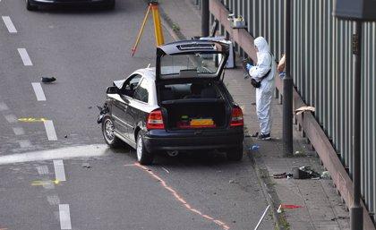 """Alemania.- La Fiscalía investiga como """"ataque islamista"""" una serie de choques ocurridos en una autopista de Berlín"""