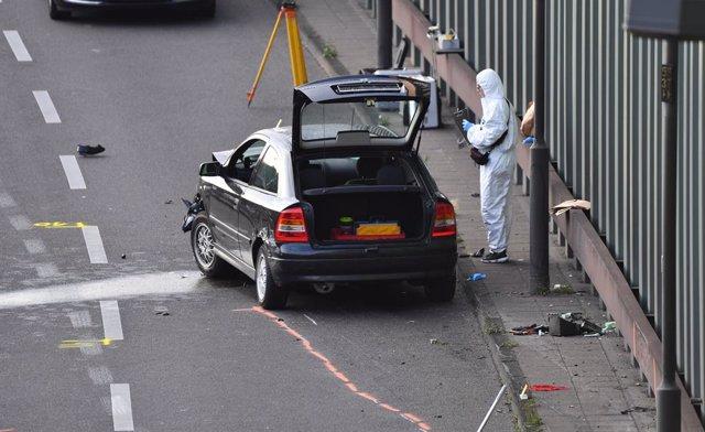 """Alemania.- La Fiscalía investiga como """"ataque islamista"""" una serie de choques oc"""