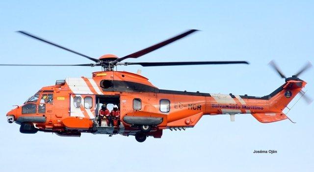 Recate en helicóptero