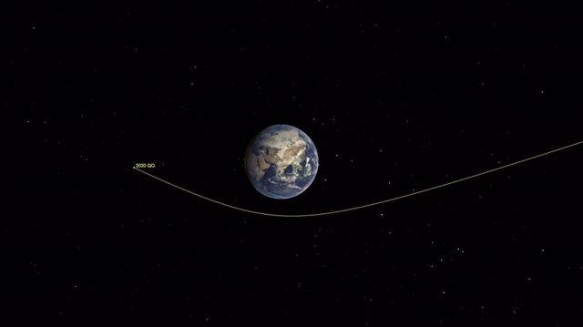 Un asteroide tamaño coche hizo el vuelo más rasante sobre la Tierra
