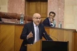 El parlamentario de Ciudadanos (Cs) y portavoz en la comisión de Turismo, Regeneración, Justicia y Administración Local, Raúl Fernández, en una foto de archivo
