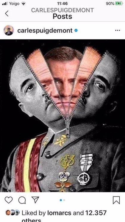"""Casa Real.- Puigdemont: """"Renunciar a la soberanía del Parlament no llevará ni menos represión ni más libertad"""""""
