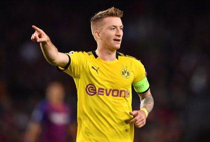 Reus vuelve a entrenar con el Borussia Dortmund tras seis meses lesionado