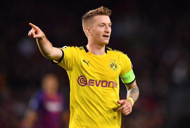 Fútbol.- Marco Reus vuelve a entrenar con el Borussia Dortmund tras seis meses l