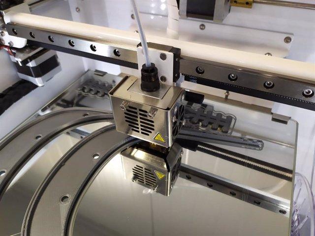Detalle de impresión 3D