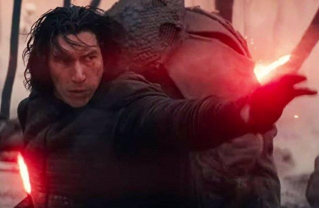 Adam Driver es Kylo Ren en la trilogía secuela de Star Wars