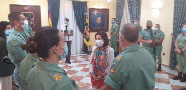 """Malí.- Robles confirma que el contingente español en Malí """"ha elevado el nivel d"""