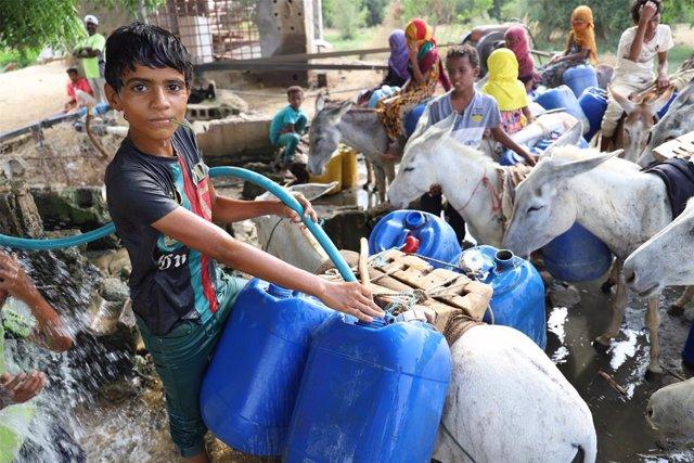 """Yemen.- La ONU advierte de que """"millones de personas"""" podrían morir en Yemen por"""