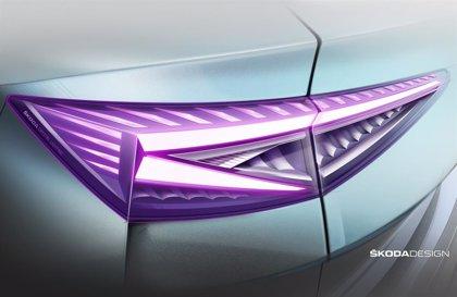 Skoda incorpora un nuevo diseño del sistema de iluminación en el eléctrico Enyaq iV