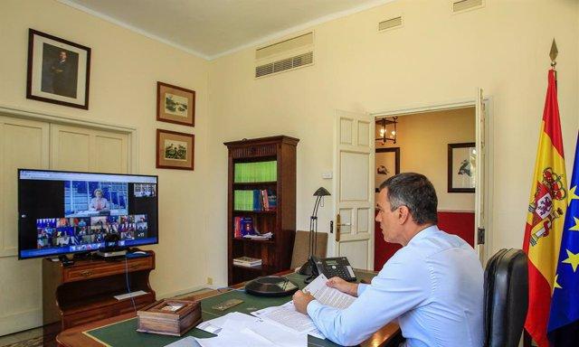 Bielorrusia.- Sánchez defiende el diálogo interno en Bielorrusia para resolver l