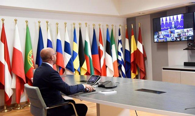 Bielorrusia.- Los líderes de la UE acuerdan sancionar a Bielorrusia y se abren a