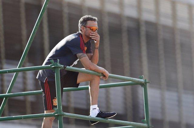 Fútbol/Selección.- Luis Enrique anunciará este jueves su lista para los partidos