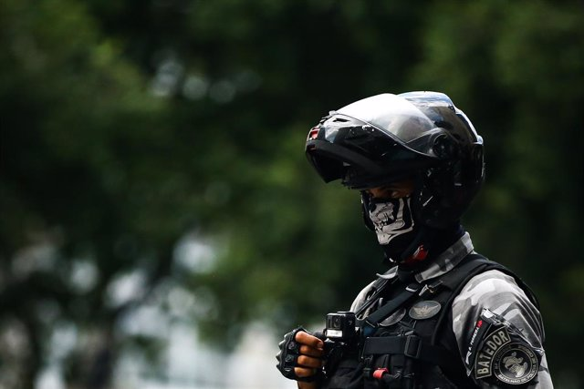 Policía en Brasil (Imagen de archivo)