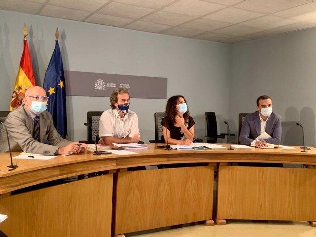 Reunión del Consejo Interterritorial del Sistema Nacional de Salud del 19 de agosto de 2020.