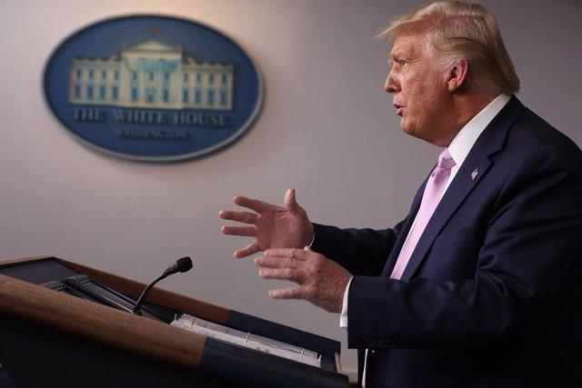 EEUU.- La Casa Blanca evita aclarar si Trump reconocerá los resultados de las el