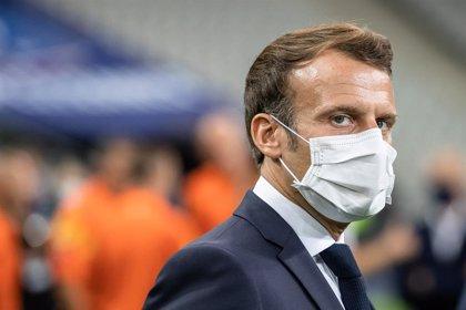 """Coronavirus.- Macron descarta un confinamiento masivo en Francia por los """"daños colaterales"""""""