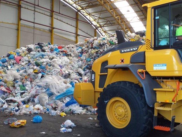 PLanta de tratamiento de residuos de Cogersa.