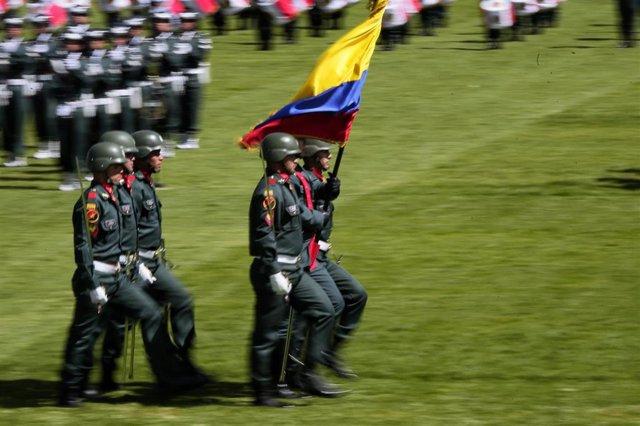 Militares en Colombia (Imagen de archivo)