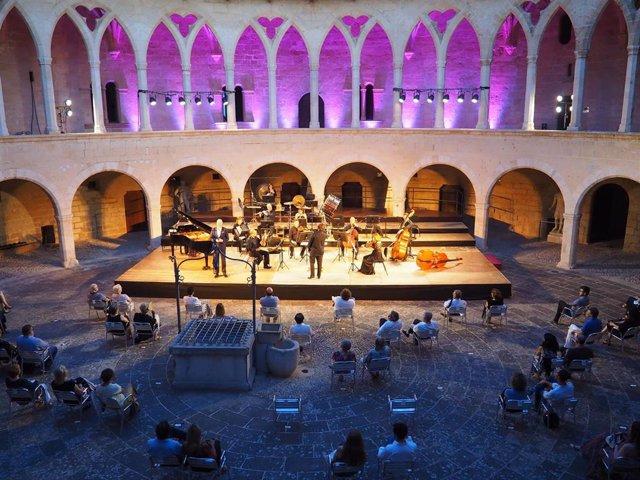 Concierto de la Orquesta Sinfónica en el Castillo de Bellver.