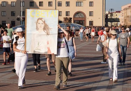 Bielorrusia.- La Fiscalía abre causa penal contra el nuevo órgano creado por la oposición en Bielorrusia