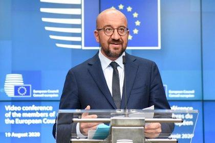 Bielorrusia.- Michel reitera ante Putin que la salida a la crisis en Bielorrusia pasa por el diálogo interno