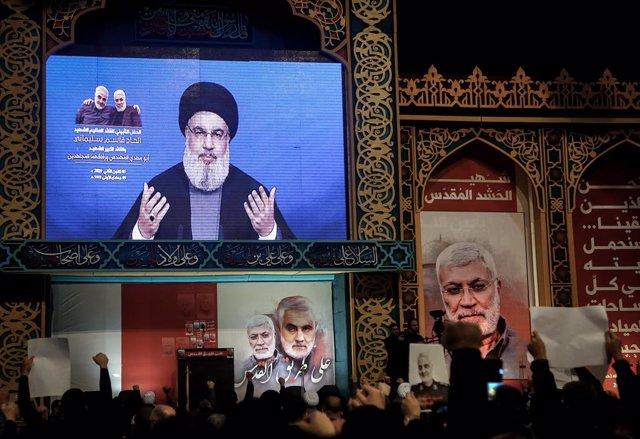 """Líbano.- Hezbolá dice que no está """"preocupado"""" por el fallo del TEL sobre el ase"""