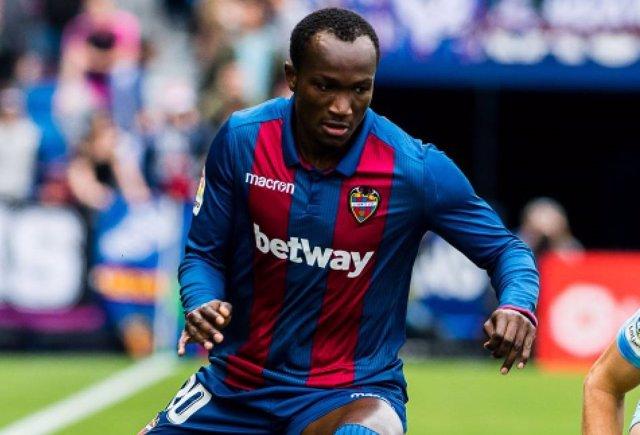 Fútbol.- El Levante traspasa a Dwamena al Vejle Boldklub danés